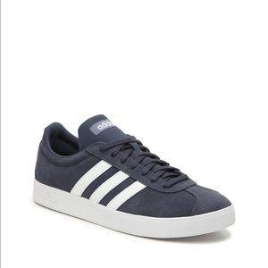 Adidas navy blue & white sneaker